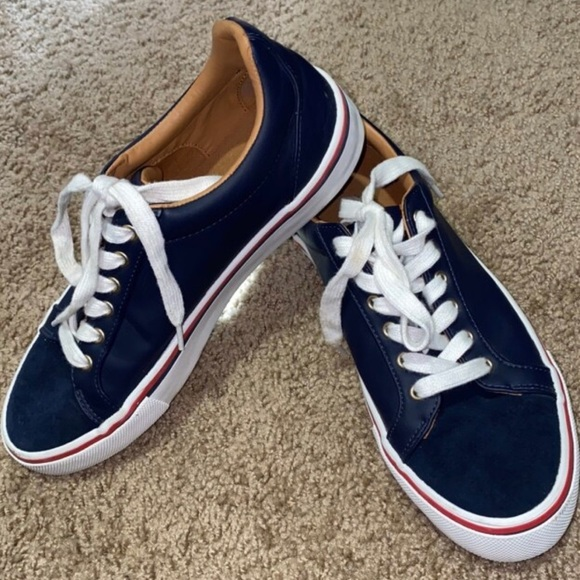 Zara Shoes | Navy Blue Size 78 Mens
